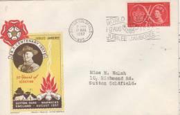 UNITED KINGDOM  SUTTON GOLDFIELD  World Scout Jubilee Jamboree  12/08/57 - Unclassified