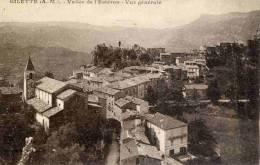 CPA 06 GILETTE VALLEE DE L'ESTERON VUE GENERALE - France