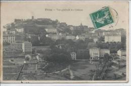 THIZY - Vue Générale Du Château - Thizy