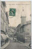THIZY - Grande Rue Et Place Du Commerce - Thizy