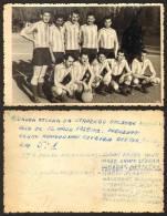 Serbia BEOGRAD Football Team Soccer 1958 Old Photo 13x9 Cm     #7758 - Deportes