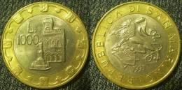 S.Marino  1000  Lire  1997  Bimetal  QFDC - Saint-Marin