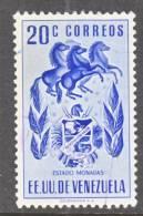 Venezuela  579   (o)  ARMS Of  MONAGAS - Venezuela