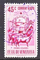 Venezuela  C 533   (o)  ARMS Of  COJEDES - Venezuela