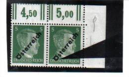 SOS217 ÖSTERREICH 1945 ANK 660 PLATTENFEHLER KERBE IM Ö FELD 10 ** - Abarten & Kuriositäten