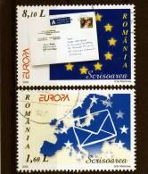 ROMANIA / RUMANIA / ROUMANIE Año 2008   Yvert Nr. Usada   Europa CEPT - Europa-CEPT