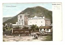 CPA : Mexique : Orizaba :Cerveceria Moctezuma :Brasserie :  Attelage - Train ( ? ) , Animation , Bâtiment, Montagne - Mexique