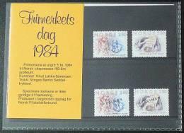NORWEGEN 1984 MI-NR. 911/12 ** MNH Und Mit Aufdruck Specimen (98) - Norwegen