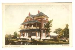CPA : Pays Bas : Zuid Holland : Boskoop : Villa In Laagboskoop : Colorisée - Boskoop