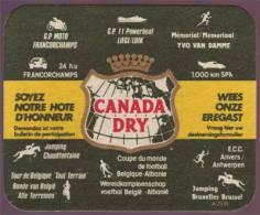 Sous Bocks - Canada Dry Rare, Sport En Belgique - - Beer Mats