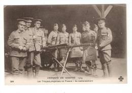 CPA : Troupes Anglaises En France : Au Cantonnement - Guerre 1914-18