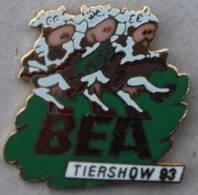 MISS VACHE LE SHOW DES ANIMAUX BEA BERNE 1993  - BEA TIERSHOW 93  - VACHE QUI DANSENT  -    (4) - Dieren