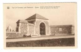 CPA :Belgique : Flandre Occidentale : Ypres - Entrée Du Cimetière Et Du Mémorial - Guerre 1914-18