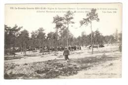 CPA : 51 - Châlons : Cantonnement De La Division Marocaine - Général Marchand Avant L'Attaque Du 25/10/15 - Guerre 1914-18