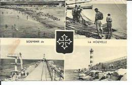 264 - LA NOUVELLE - LA PLAGE ( Animées - 4 VUES ) - Port La Nouvelle