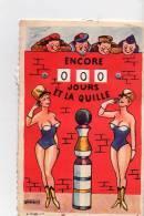 Carte à Systèmes - Encore... Jours Et La Quille - Signé R Marquo - Humoristiques