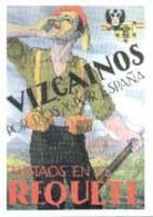 Postal Carlista. Guerra Civil. Vizcainos Por Dios Y Por España Alistaos En El Requete. 1999. - Documentos
