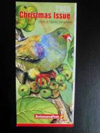 Botswana 2005 Stamp Folder (new Issues) - Birds Issue (doves / Pigeons) - Timbres