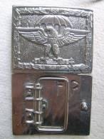 Hebilla Paracaidistas. Italia. 2ª Guerra Mundial. - Equipo