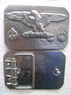 Hebilla Ejército Italiano. 2ª Guerra Mundial. - Equipo