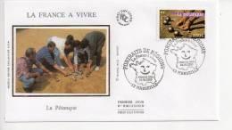 Enveloppe Premier 1er Jour FDC First Day Cover La Pétanque Marseille 2003 - FDC