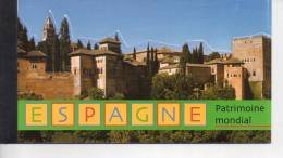 Carnet Nations Unies United Nations UNESCO World Heritage Patrimoine Mondial  - ESPAGNE  Version FR - Booklets