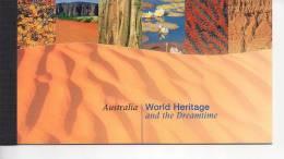 Carnet Nations Unies United Nations UNESCO World Heritage Patrimoine Mondial  - AUSTRALIE  Version UK - Booklets