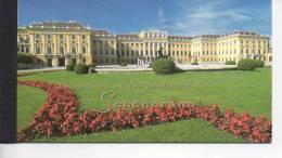 Carnet Nations Unies United Nations UNESCO World Heritage Patrimoine Mondial  - SCHONBRUNN   Version FR - Booklets