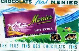 CHOCOLAT     MEUNIER   BUVARD EXTRA - Cocoa & Chocolat
