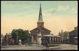 AUSTRALIE - NSW - QUEEN'S SQUARE 1900. TRAMWAY. SYDNEY STREETS  - C.B.& Co., Ltd. - Sydney