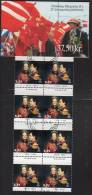DENMARK 1997 Jubilee Of Queen Margrethe II. Booklet  S86 With Cancelled Stamps.  Michel 1143MH, SG SB176 - Booklets