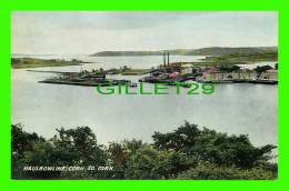 HAULBOWLINE, IRELAND - VIEW OF THE ISLAND - VALENTINE & SONS LTD - - Cork