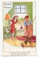 Holzer - En HOLLANDAIS, Vierge - Mari En Femme De Ménage... - Holzer, Adi