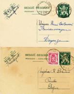 545/20 - Cote Belg. Kust - 4 Documents De NIEUPORT 1892 - 1946 - Belgique