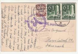 AK Gruss Aus Zoppot 01.11.39 Nach DK - Königsberg  02.11.39 - Von Der Wehrmacht Zugelassen - Zensur/Censure Königsberg - Ocupación 1938 – 45