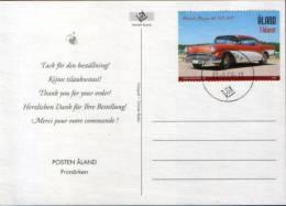 Nice Topic Stamp On Postcard - Cars