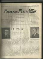 Pour Nos Petits Vieux. Bulletin Mensuel De L'oeuvre Philantropique De St. Josse Ten Noode, - Belgique
