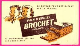 Buvard Pain D'épices Brochet Frères - Gingerbread