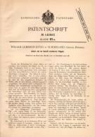 Original Patentschrift - W. Byers In Sunderland , Durham , 1900 , Anker Für Schiffe , Schiff , Ship !!! - Schiffe