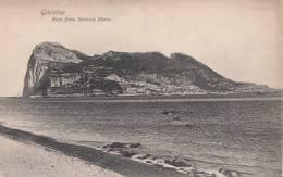 GIBILTERRA / GIBRALTAR C1900 - ROCK FROM THE SPANISH SHORE - ED. BEANLAN MALIN & CO.GIBRALTAR - Gibraltar