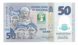 Nigeria 50 Naira 2010 UNC CRISP Banknote Commemorative Polymer - Nigeria