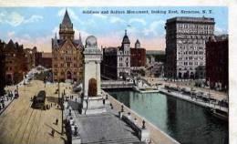 ETATS UNIS NEW YORK SYRACUSE SOLDIERS AND SAILORS MONUMENT LOOKING EAST - Syracuse