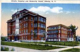 ETATS UNIS NEW YORK ALBANY CHILD'S HOSPITAL AND MATERNITY HOME - Albany