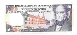 Venezuela 50 Bolivares 1992 XF+ CRISP Banknote P-65d - Venezuela