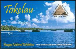 "2008 Tokelau ""Tarapex 2008""Paesaggi Landscapes Paysages Block MNH** C247 - Tokelau"