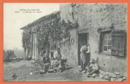 T119, Scène Du Centre, 50, Soupe Du Matin, Précurseur, Animée, Département De L'Ain, Non Circulée - Centre-Val De Loire