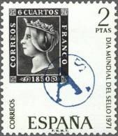 España 1971 Edifil 2033 Sello ** Dia Mundial Del Sello A De Reus, Marca Prefilatelica 2Pts Timbres Espagne Espana Stamps - 1931-Hoy: 2ª República - ... Juan Carlos I
