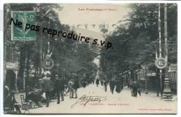 - 39 - LUCHON  - Allée D'Etigny, Belle Animation, Peu Courante, Commissionnaires  Sur Les Chaises, TBE, écrite, Scans. - Luchon