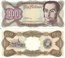 Venezuela P-66d, 100 Bolivar, Simon Bolivar / National Capitol, Caracas - Venezuela