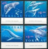 1997 Tokelau Balene Whales Baleines Cetacei Cetaceans Cètacès Set MNH** C154 - Tokelau